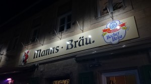 Manns Brau – Men`s Brew that will appeal to undemanding beer drinkers