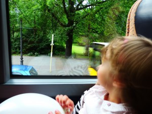 My girl looking at Berlin / Moja punca, ko gleda Berlin.
