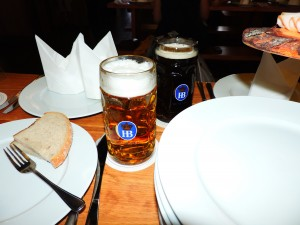 They served some good beer / Postregli so z zelo dobrim pivom.